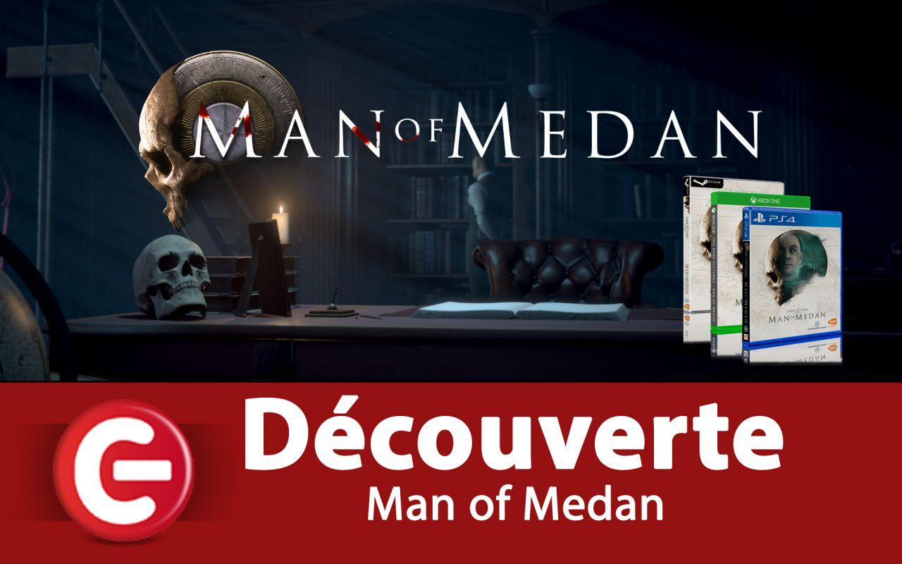 [LIVE-DECOUVERTE] Man of Medan sur PS4, On entre dans le bateau 'SS Ourang Medan' !