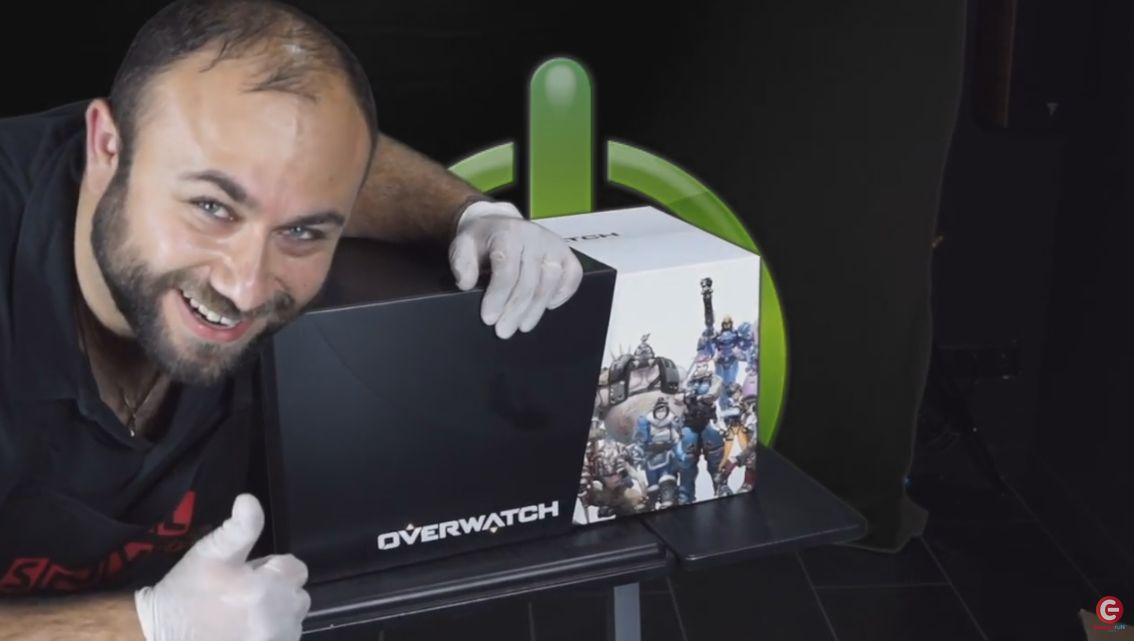 Unboxing : L'édition collector de Overwatch