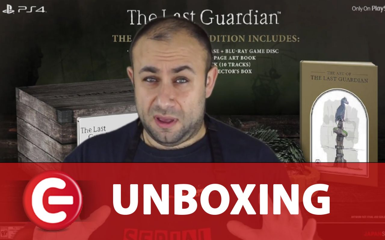 Unboxing : L'édition collector de The Last Guardian sur PS4