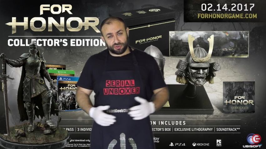 Unboxing : Edition Collector de For Honor PS4 - One (EUR vs US)