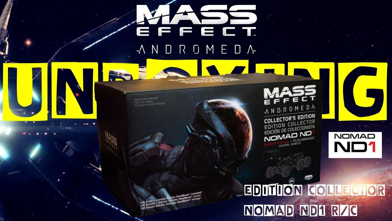 Unboxing : L'édition collector de Mass Effect Andromeda