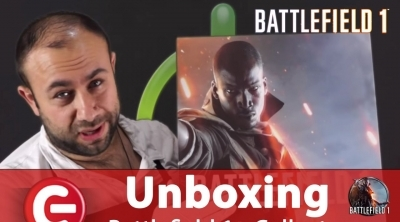 Unboxing : L'édition collector de Battlefield 1
