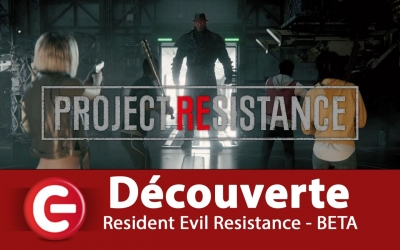 Test vidéo [DECOUVERTE / TEST] Resident Evil Resistance sur Xbox One X - Open BETA
