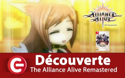 Test vidéo [DECOUVERTE] The Alliance Alive HD Remastered - Un bon RPG sur Switch et PS4 ?