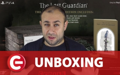 Test vidéo Unboxing : L'édition collector de The Last Guardian sur PS4