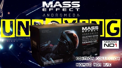 Test vidéo Unboxing : L'édition collector de Mass Effect Andromeda
