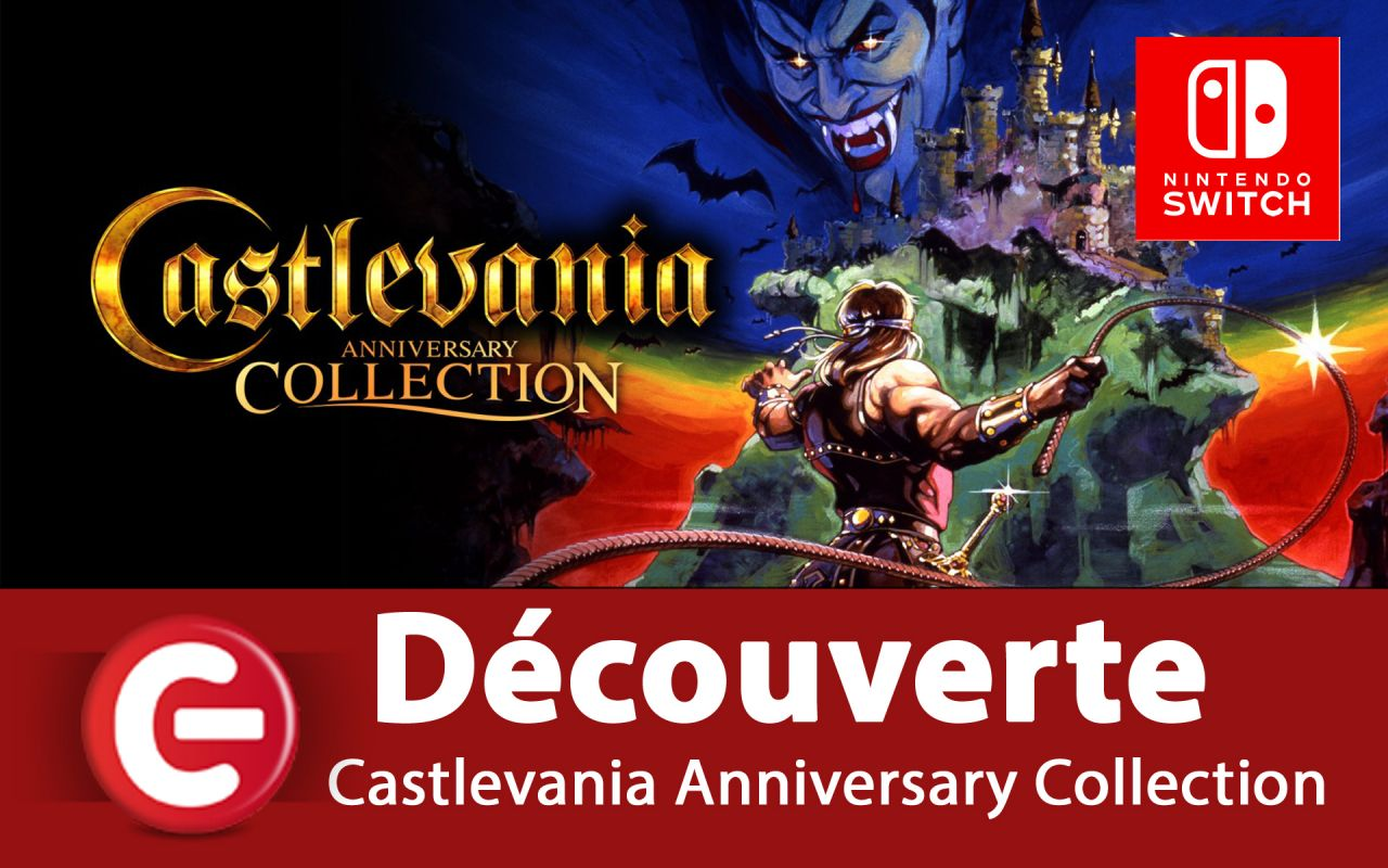 [Découverte] Castlevania Anniversary Collection sur Switch