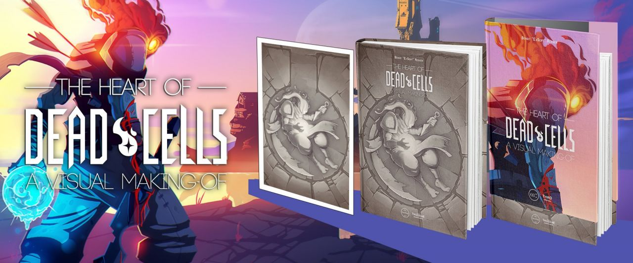 The Heart of Dead Cells, un artbook analytique de haute volée