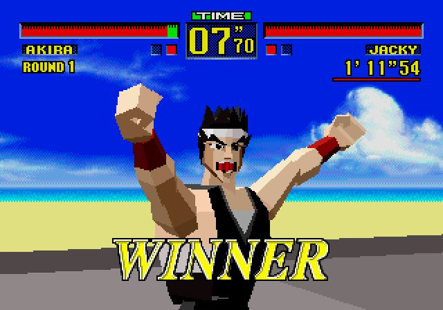 Back to the future (30 nov 1995) : Virtua Fighter sur 32X