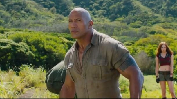 Jumanji Welcome to the jungle : Bande-annonce