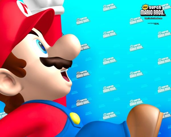 Back to the Future : New Super Mario Bros. le 30 juin 2006
