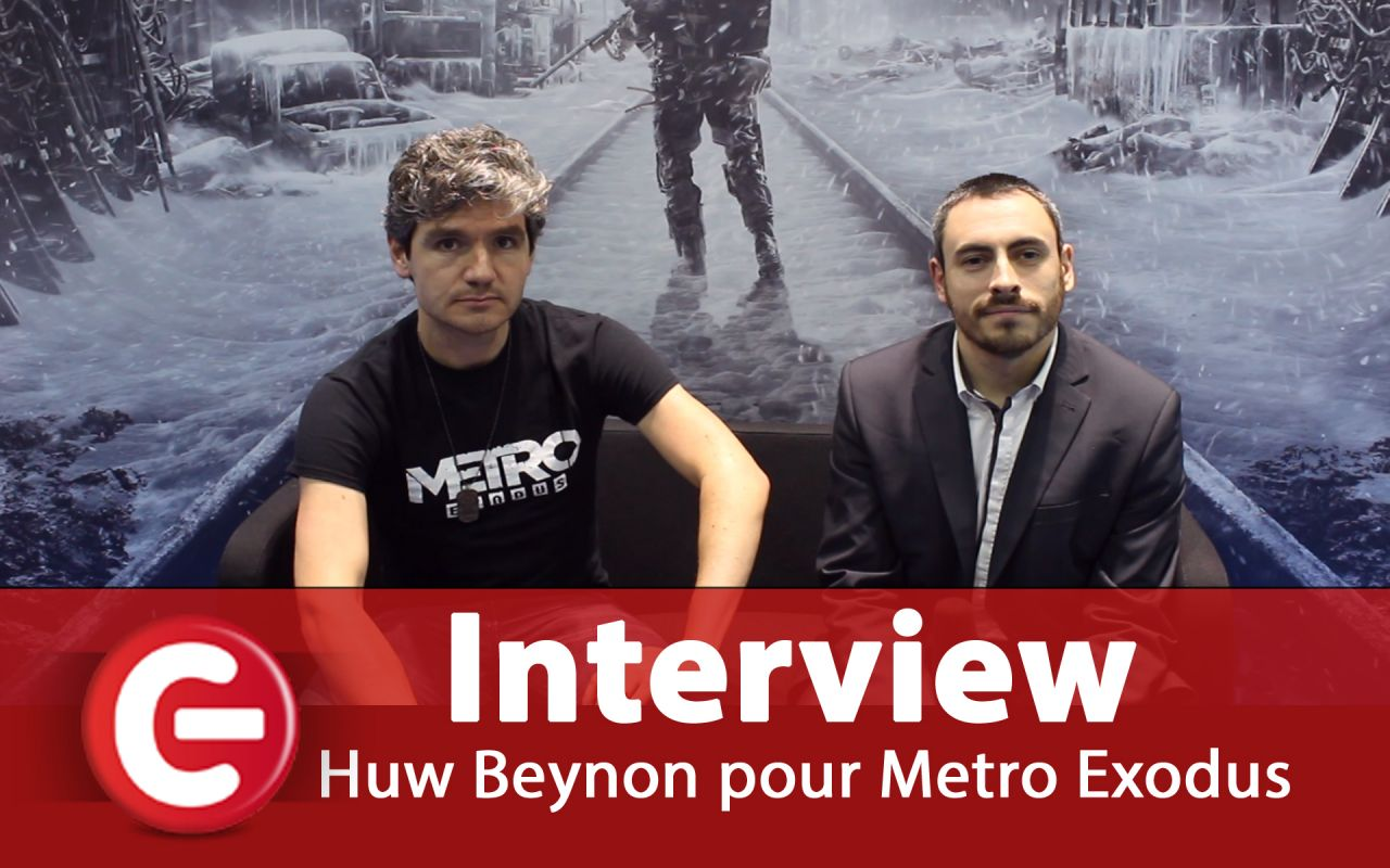 Metro Exodus : Interview de Huw Beynon, Head of Global Brand Manager de Deep Silver - #PGW18