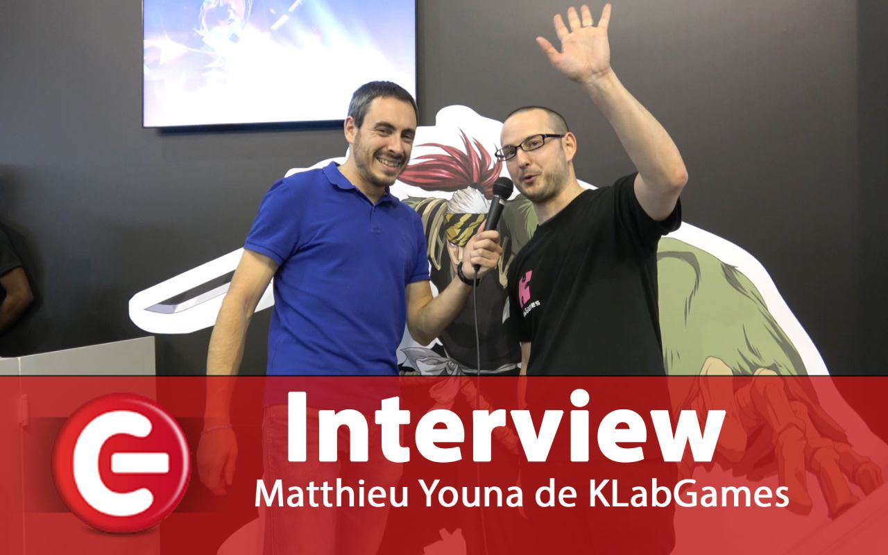 Japan Expo 2018 : Interview ConsoleFun avec Matthieu Youna, de KLabGames