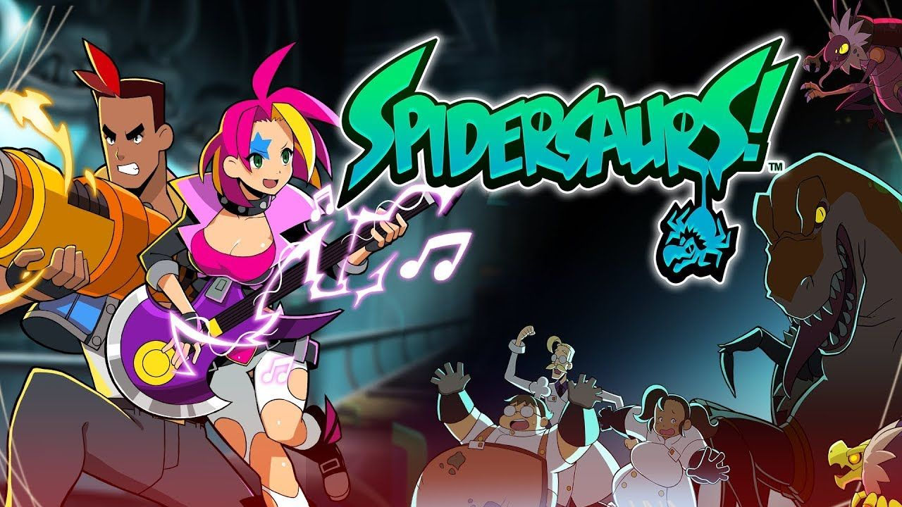 Spidersaurs : Un shooter déjanté maintenant disponible sur Apple Arcade !