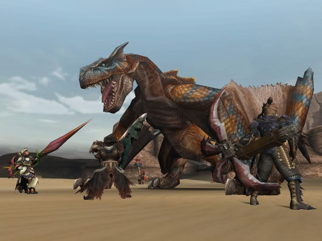 Monster Hunter Freedom Unite : Sorti sur iOS