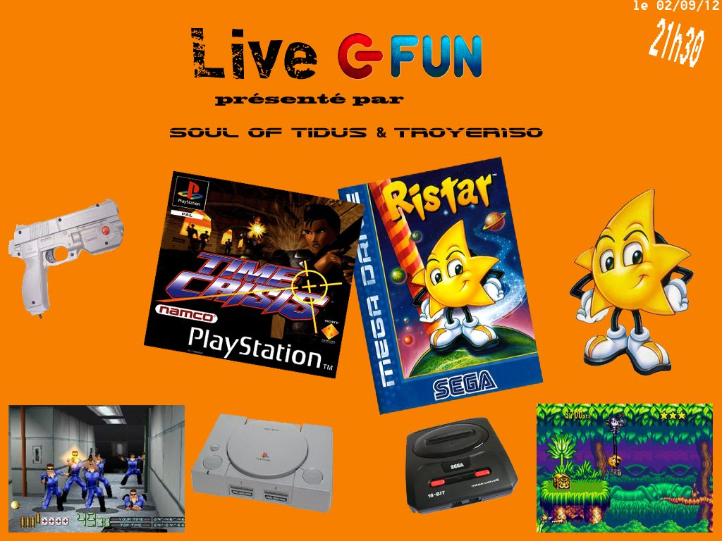 Live Fun : Time Crisis & Ristar avec soul_of_tidus & TROYER150