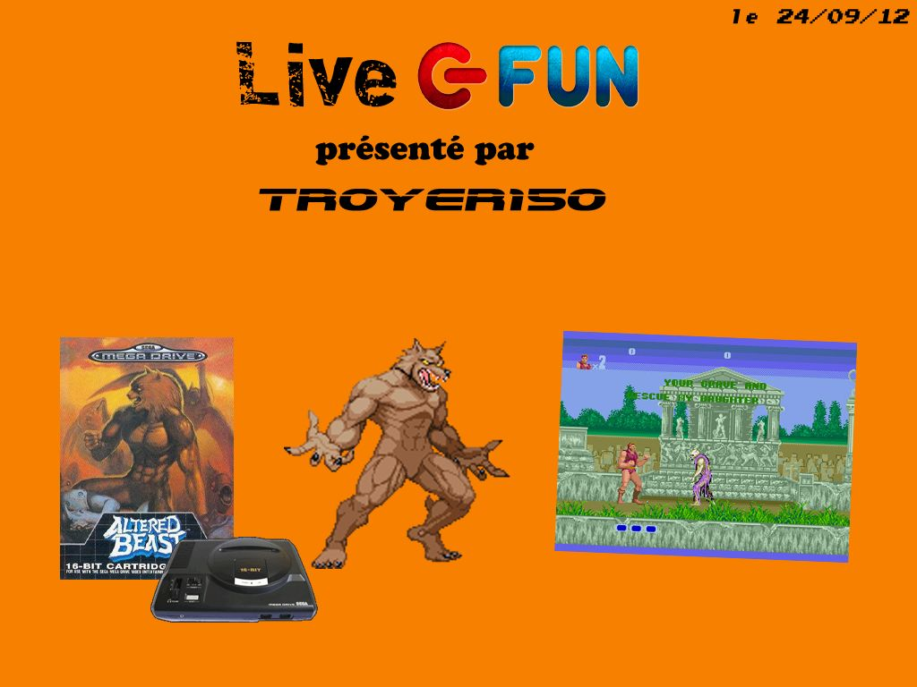 Live Fun : Altered Beast avec TROYER150