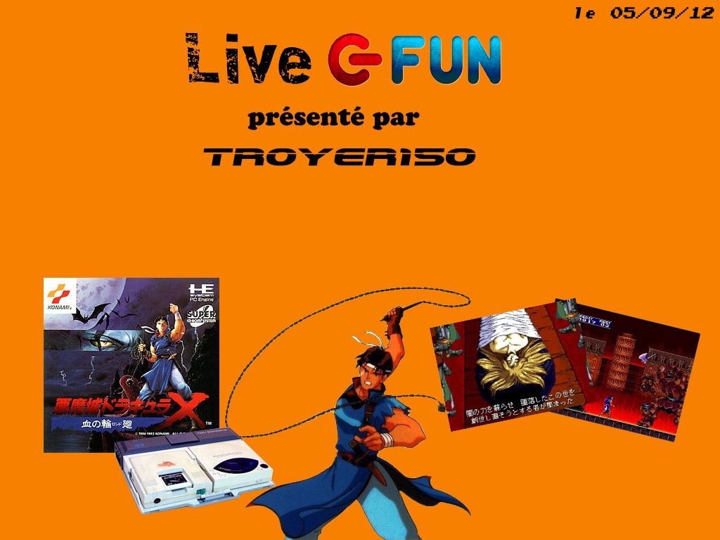 Live Fun : Castlevania Rondo of Blood avec TROYER150