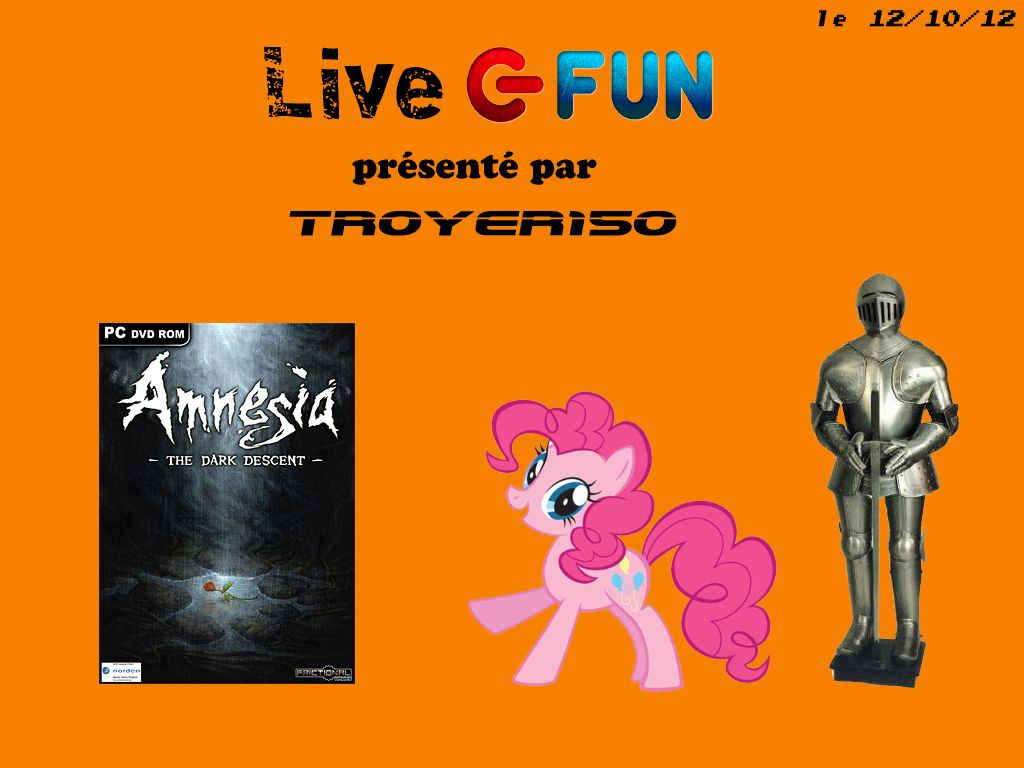 Live Fun : Amnesia : The Dark Descent avec TROYER150