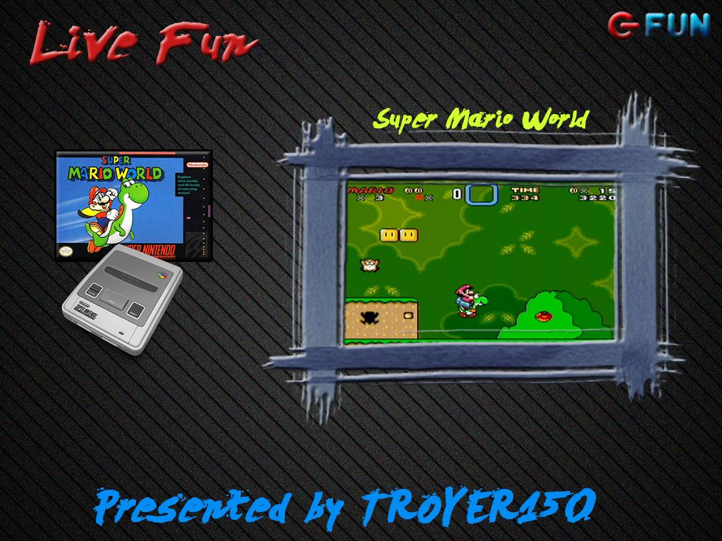 Live Fun : Super Mario World avec TROYER150