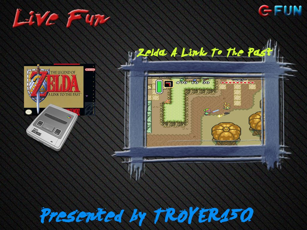 Live Fun : Zelda A Link To The Past (p1) avec TROYER150