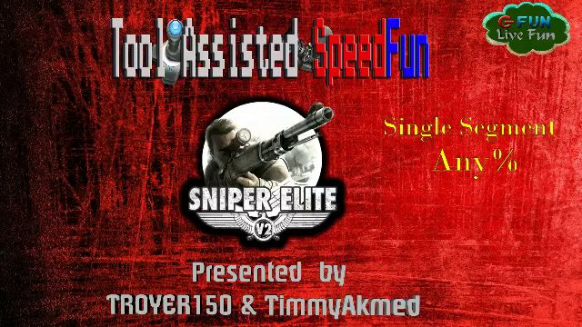 Tool Asssisted SpeedFun #2 - Sniper Elite V2 (single segment / any%)