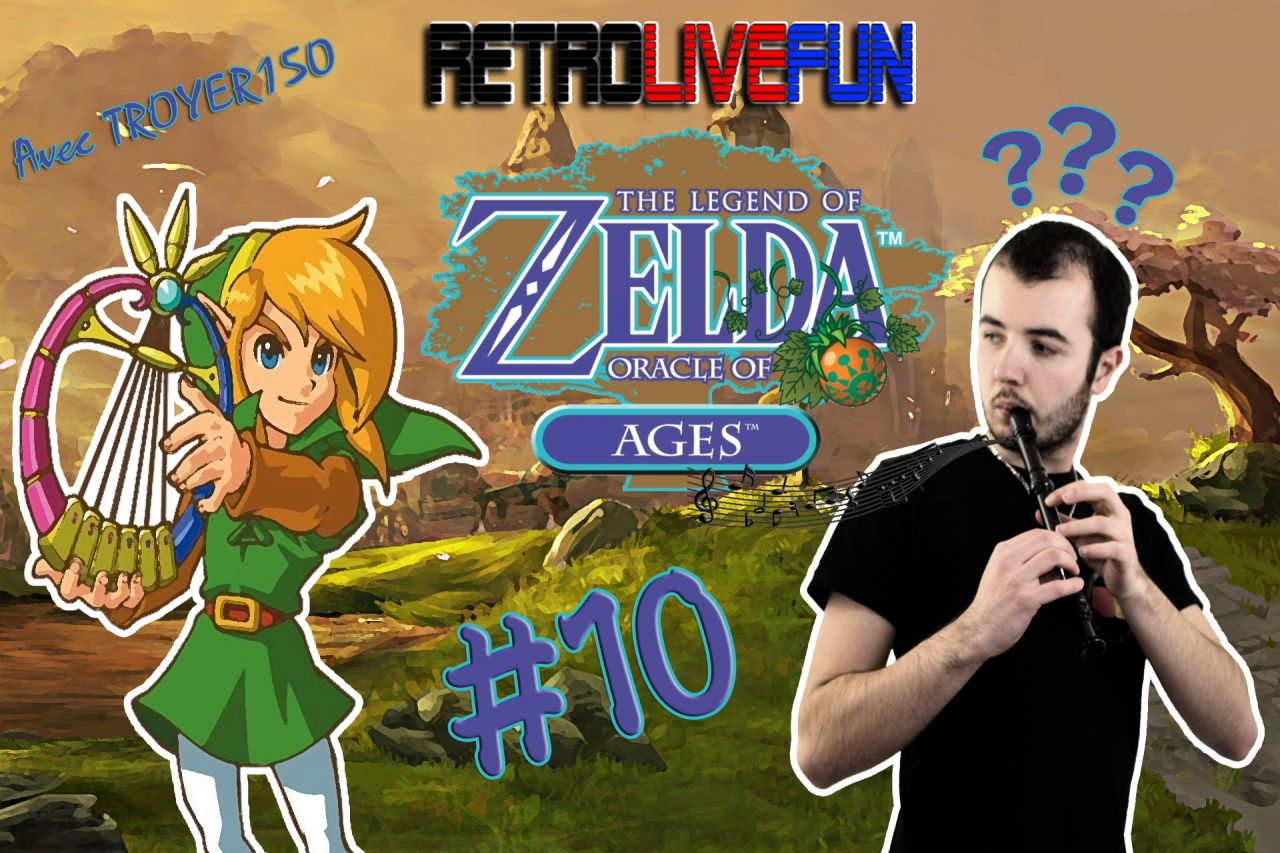 RetroLiveFun S2 #10 - The Legend of Zelda: Oracle of Ages GBC