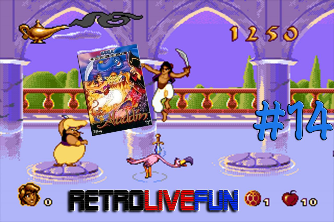 RetroLiveFun S2 #14 - Aladdin MD