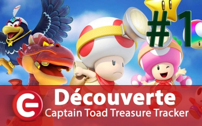 Test vidéo [Découverte FUN] Captain Toad Treasure Tracker sur Switch