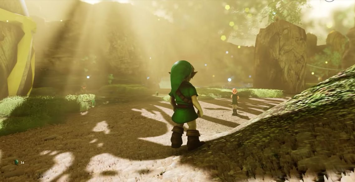 FUN : Les 25 premières minutes de gameplay du Remake de The Legend of Zelda Ocarina of Time sur PC