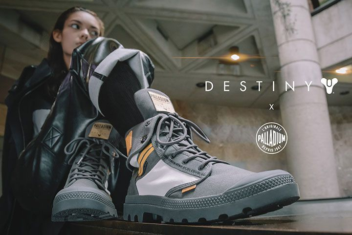 Destiny 2 : Les bottines Palladium désormais disponibles en précommande en Europe !