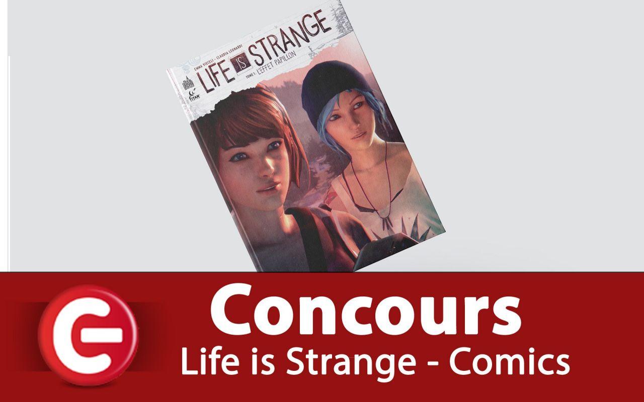 Concours Youtube : Gagnez un exemplaire du comics Life is Strange T1 !