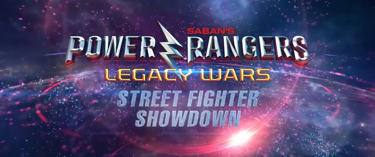 Power Rangers Legacy Wars Street Fighter Showdown : Un court-métrage annoncé