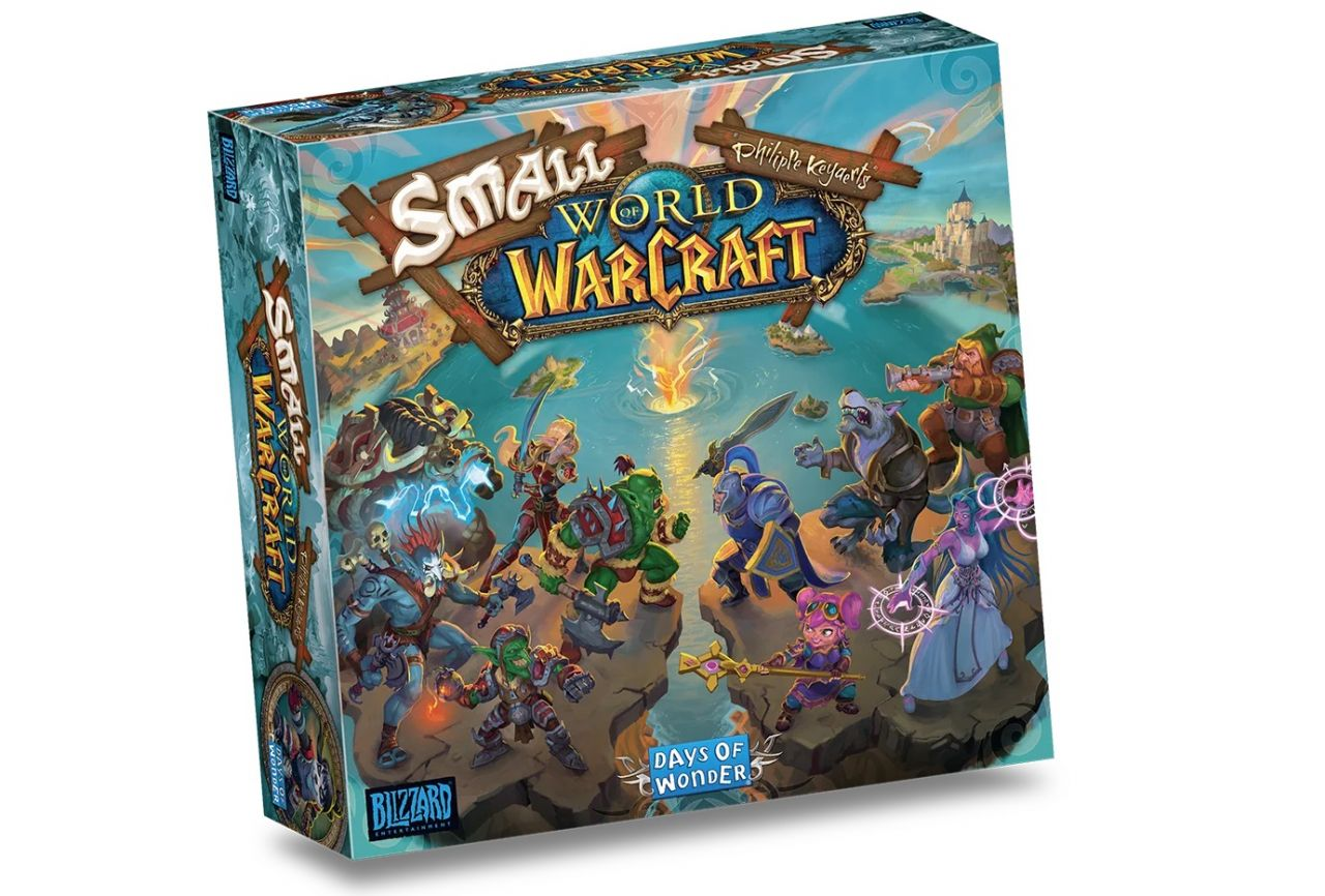 World of Warcraft : Days of Wonder annonce Small World of Warcraft