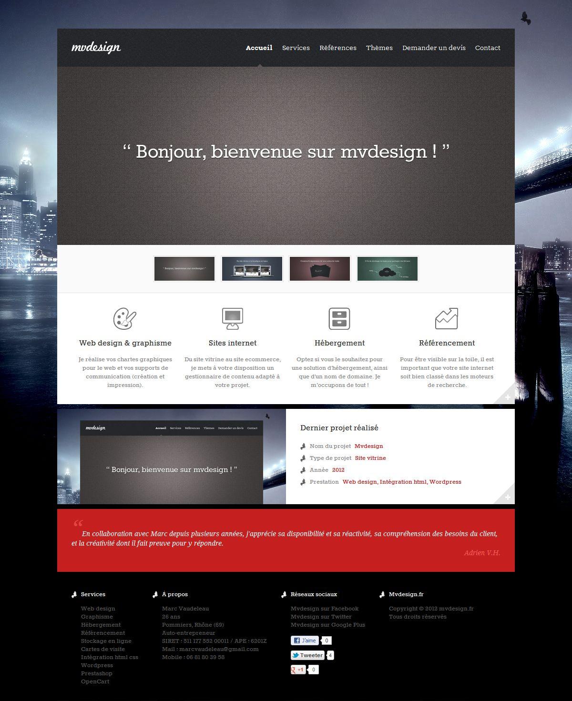 Mvdesignfr Web Design Et Integration HTML