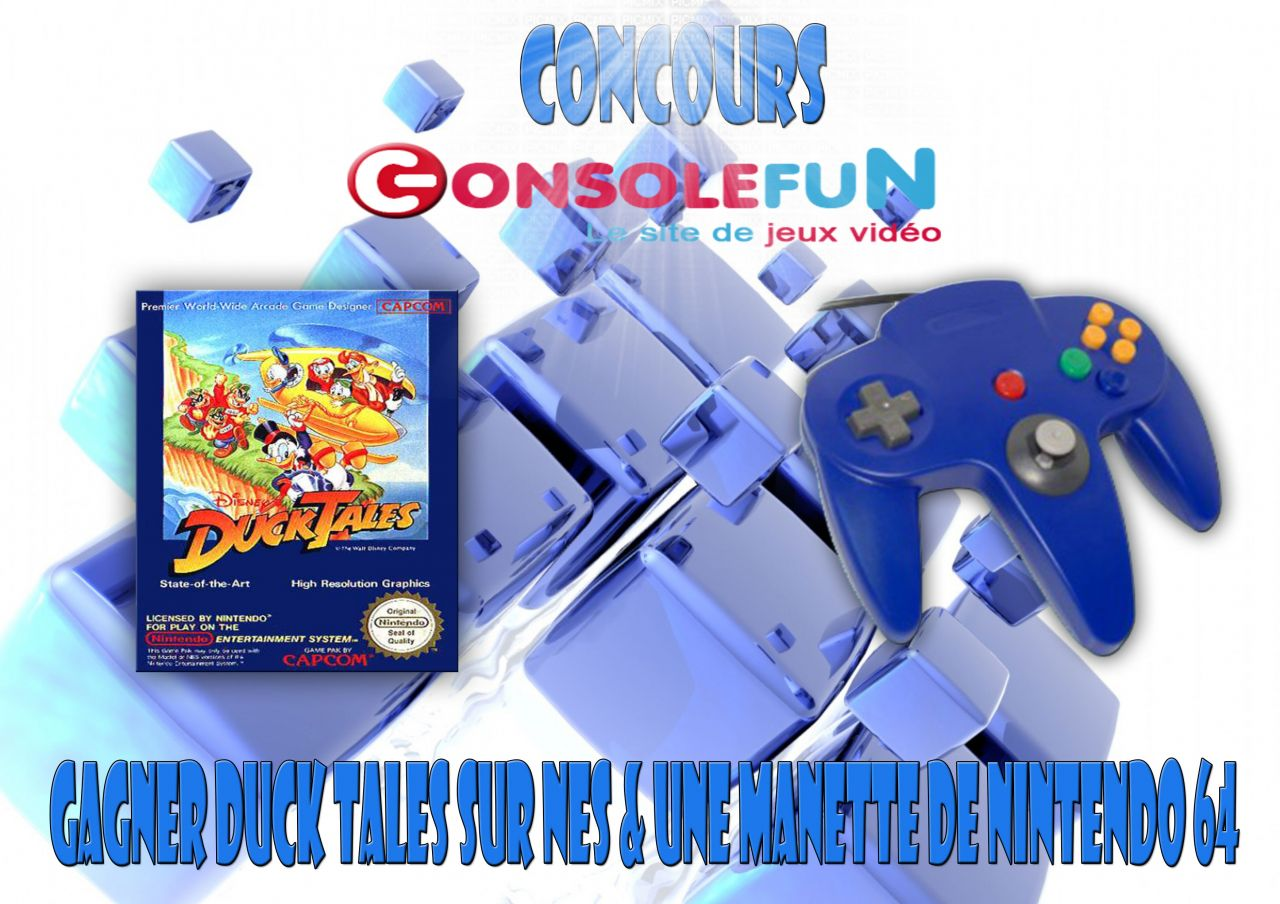Concours : Gagnez Duck Tales & Manette N64