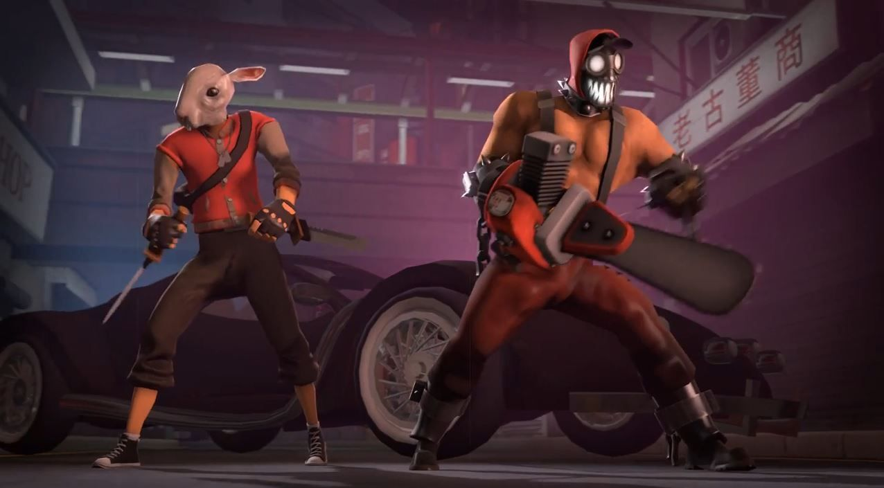 Fun : Hotline Miami 2 revisité par Team Fortress  2