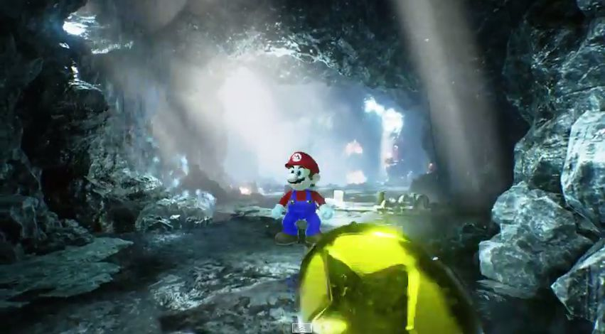 Fun : Mario dans l'Unreal Engine