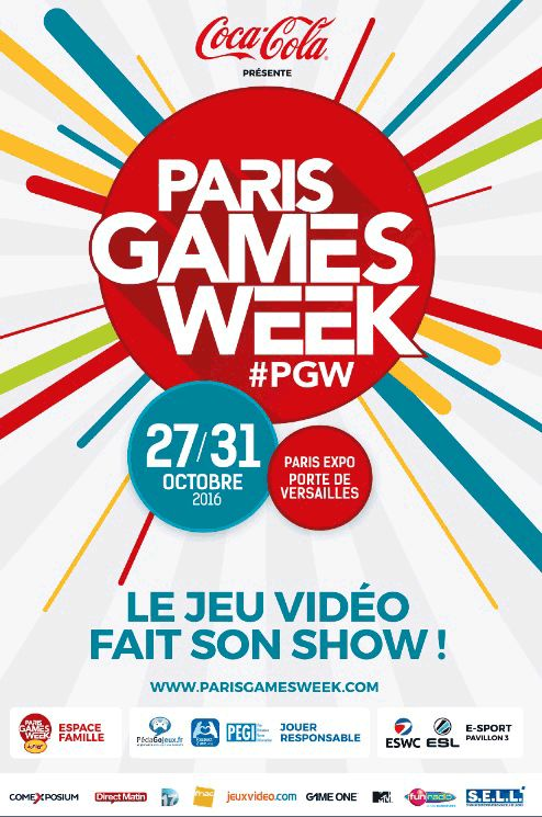 Paris Games Week : Elle s'affiche !