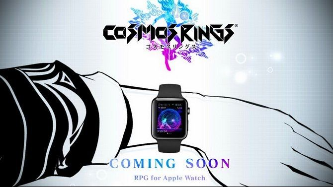 Cosmos Rings : Square-Enix se lance dans l'Apple Watch