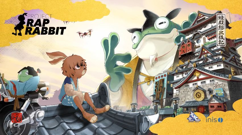 Project Rap Rabbit : Teaser d'un projet conçu par le papa de PaRappa the Rapper