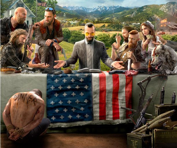 Far Cry 5 : La jaquette du jeu