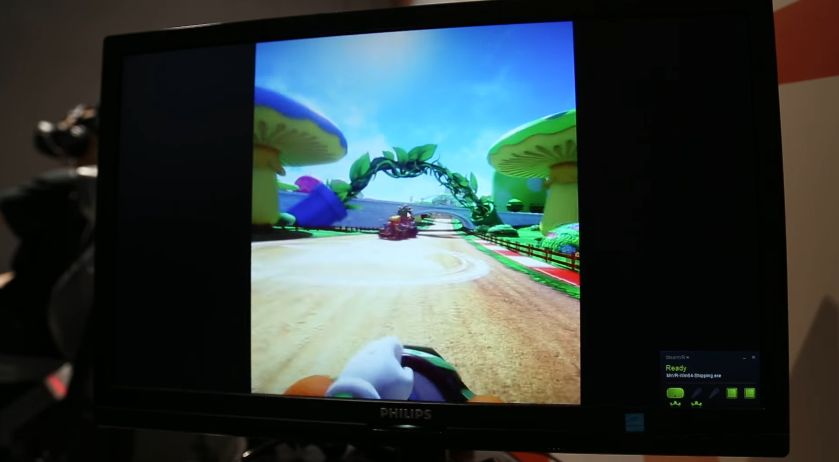 FUN : Mario Kart en VR, des extraits de gameplay