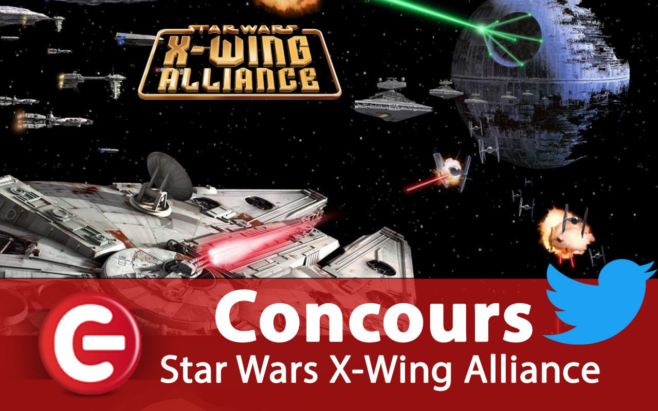 Concours ConsoleFun : Gagnez le jeu 'Star Wars X-Wing Alliance'