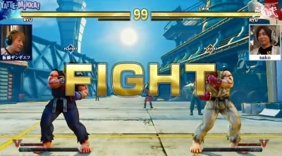 FUN : Le combat du siècle sur Street Fighter V - Ryu vs Ryu !