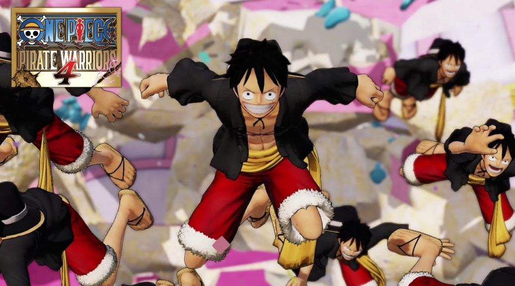 Gamescom : One Piece Pirate Warriors 4, premier trailer de gameplay avec des nouveautés à prévoir