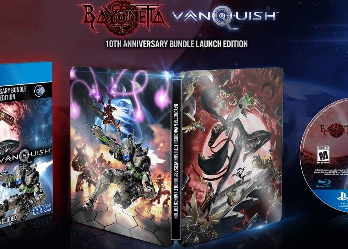 Bundle : Bayonetta et Vanquish 10th Anniversary Remastered sur PS4 et Xbox One - Informations et listes des sites e-commerce