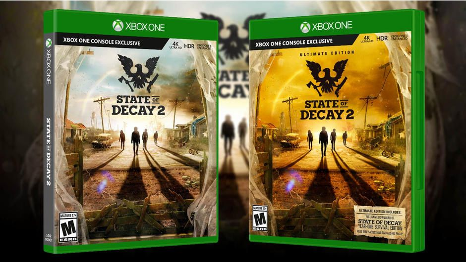 Bon Plan : State of Decay 2 Ultimate Edition sur Xbox One + 1 chaussette de NOEL à 9,99 euros (au lieu de 39,99...)