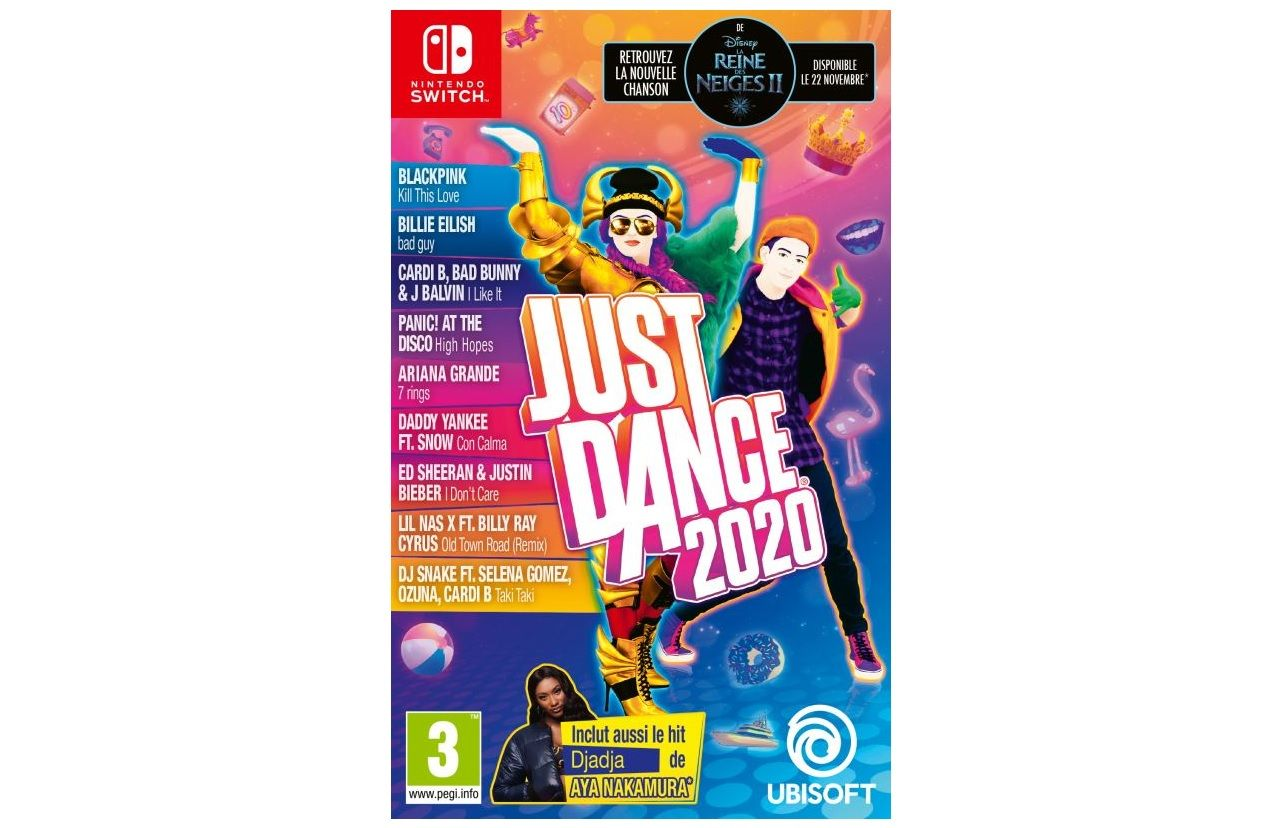 Bon Plan : Just Dance 2020 sur Switch + 1 Goodie à 29,99 euros (au lieu de 59,99...)