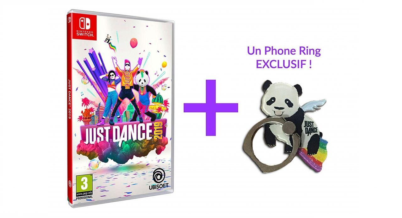 Bon Plan : Just Dance 2019 sur Switch + Goodie Phone Ring à 34,99 euros (au lieu de 59,99...)